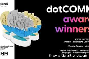 Digital Trends Wins One Platinum and Two Golds at the 2020 dotCOMM Awards