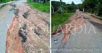 Desinterés de las autoridades por mejorar los accesos en Oluta - Vanguardia de Veracruz