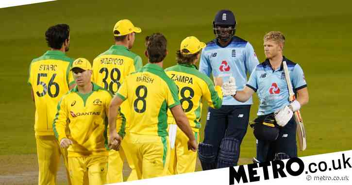 Eoin Morgan and Sam Billings react to England's defeat to Australia in first ODI