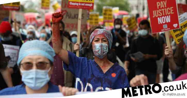 Single mum working on NHS frontline tells of struggle putting food on table
