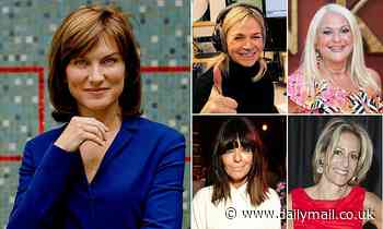 Good news for Fiona Bruce: Presenter, 56, is tipped to make top ten on BBC's rich list