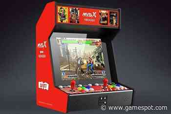SNK MVSX Will Seemingly Support Adding Extra Neo Geo Games - GameSpot