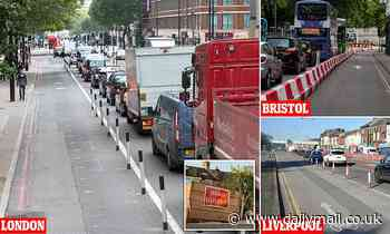 MARK EDMONDS: Eco-obsessed councils spend YOUR money to shut roads across Britain