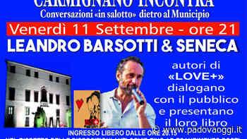 Incontri con gli autori nel fine settimana a Carmignano di Brenta - PadovaOggi