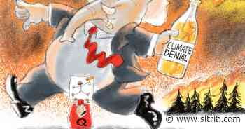 Bagley Cartoon: Fire Starter