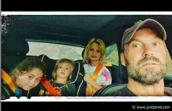 Brian Austin Green Shares Photo with His 3 Sons, Responds to Mean Comments About Their Long Hair