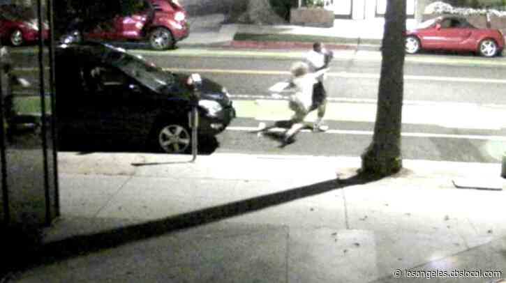 Caught On Video: Woman Dragged Into Santa Monica Street In Violent Purse Snatching