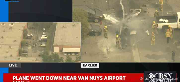 Small Plane Crashes Near Van Nuys Airport, Killing 2 People