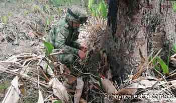 Ejército neutralizó artefacto explosivo de gran poder en la vía Tame-Fortul [VIDEO] - Extra Boyacá