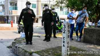 Denuncian oleada de atracos en el barrio Olaya - EL HERALDO