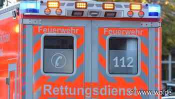 Unfall in Netphen: Motorradfahrer stürzt in Applauskurve - Westfalenpost