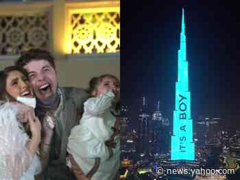 An influencer couple revealed their child's gender on Dubai's Burj Khalifa, the tallest building in the world
