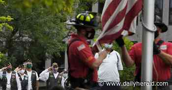 'A sinking feeling that doesn't go away': Naperville ceremony honors Sept. 11 victims