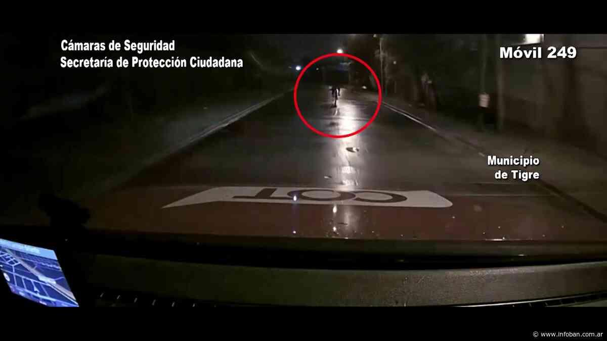 Robó una bordeadora y huyó en bicicleta en Don Torcuato pero las cámaras del COT no lo dejaron escapar - InfoBan
