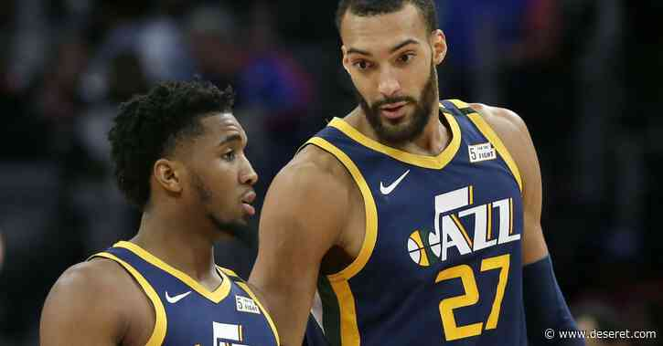 Donovan Mitchell and Rudy Gobert's growth, maturity in the NBA bubble cemented them as leaders