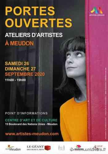 Portes ouvertes : artistes à Meudon Centre d'art et de culture samedi 26 septembre 2020 - Unidivers