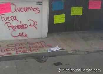 Atacan oficinas de medio de comunicación en Mixquiahuala - La Silla Rota