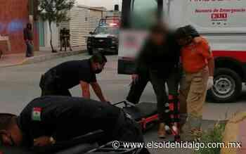 Dos menores y una mujer resultaron lesionados tras accidente en Mixquiahuala - El Sol de Hidalgo