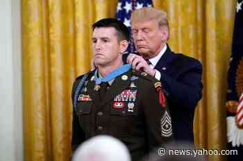 Soldier Awarded Medal of Honor on Anniversary of 9/11 Attacks That Inspired Him to Fight