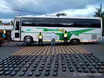 'Narcobus' que cubría la ruta Popayán- Pasto cayó en Chachagüí con 400 kilos de marihuana - TuBarco