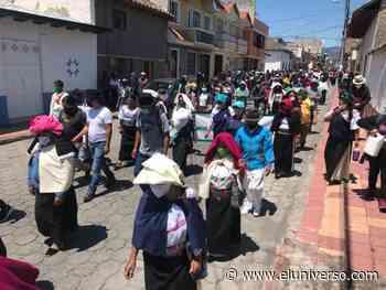 Organizaciones indígenas y campesinas de Cotacachi marchan en contra de administración municipal de Auki Tituaña - El Universo