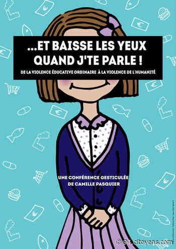 Et baisse les yeux quand j'te parle: conférence à Neuilly-Plaisance - 94 Citoyens