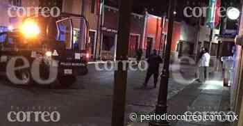Ultiman a hombre en la zona centro de Yuriria - Periódico Correo