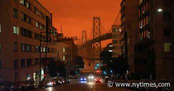 Incendios en California: el cielo de San Francisco se tiñe de naranja - The New York Times (Español)