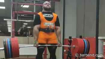 Ivan Makarov Hits 490kg Deadlift, Could 510kg Be Next? - BarBend