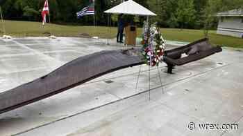 World Trade Center beam brought to Cherry Valley, part of new 9/11 memorial - WREX-TV