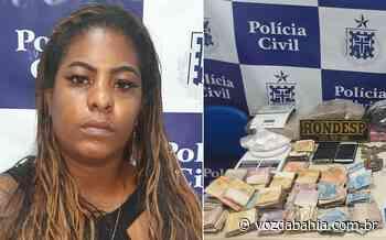 Lauro de Freitas: Mulher é presa em flagrante acusada de tráfico de drogas com R$ 19 mil em Itinga - Voz da Bahia