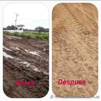 Realizan trabajos de recuperación vial en Cerro de San Antonio - El Informador - Santa Marta