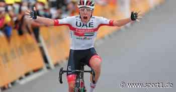 Tour de France: Etappensieg für Pogacar mit 21 Jahren wie Lance Armstrong - SPORT1