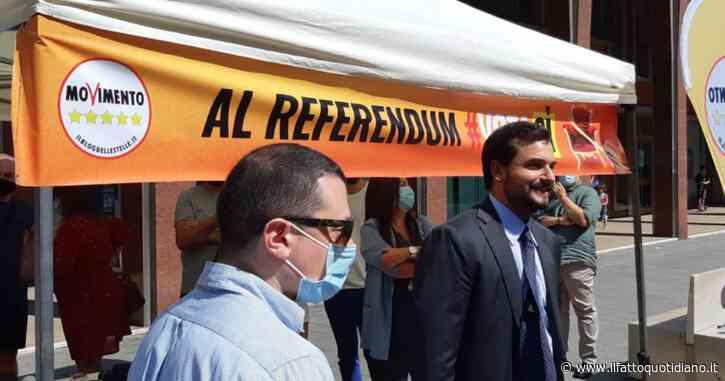 Referendum, gazebo M5s in piazza per il Vota Sì Day: Di Maio in Toscana, Crimi all'evento di Ostia con Raggi e Catalfo