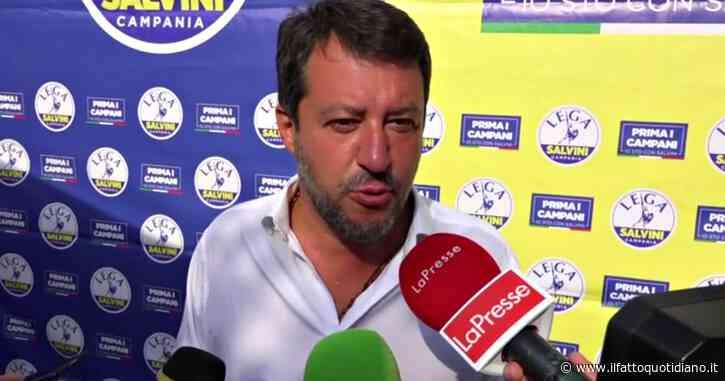 Salvini, e chi se lo scorda più il suo comizio! Tra fan (pochi), fischi e pomodori