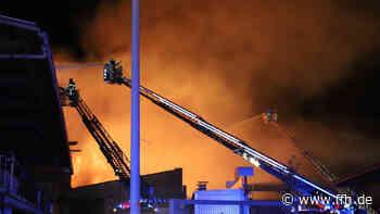 Feuer in Elz: Lager einer Schreinerei brennt ab - HIT RADIO FFH