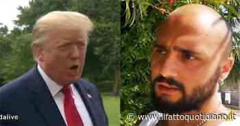 """Propaganda Live, Celenza intervista """"in esclusiva"""" Donald Trump: il risultato è esilarante"""
