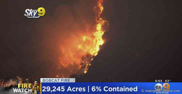 Smoke Advisory In Effect For Parts Of SoCal As Bobcat Fire Continues To Burn In Monrovia