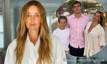 Louise Redknapp admits she has been threatened with a BAN from her son Beau's football matches