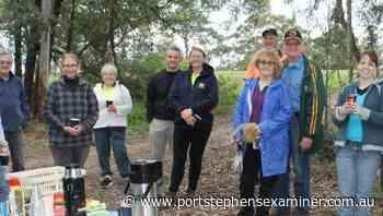 Groups plant koala feed trees in Raymond Terrace's Boomerang Park - Port Stephens Examiner
