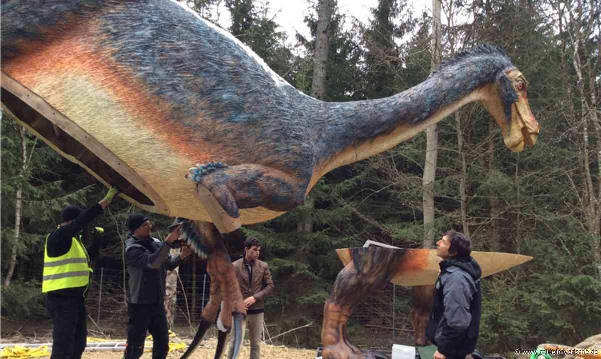 Dino aus Park in Denkendorf geklaut - Region Neumarkt - Nachrichten - Mittelbayerische
