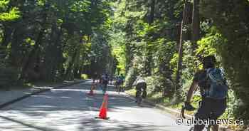 Vancouverites upset over disputed bike lane rally to 'take back' Stanley Park