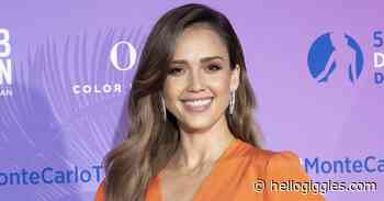 Jessica Alba Is Wearing These Comfy Sneakers Like House Slippers - HelloGiggles