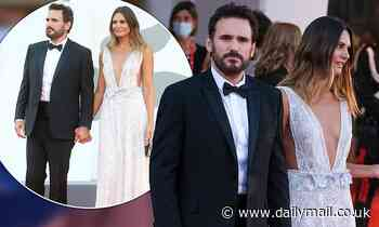 Matt Dillon attends the closing ceremony of the Venice Film Festival with his girlfriend