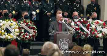 Area firefighters honored at annual Elgin memorial service
