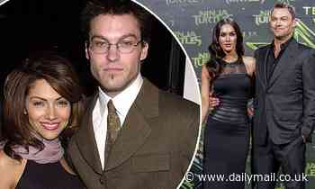 Brian Austin Green's ex-fiancée Vanessa Marcil SIDES with his estranged wife Megan Fox