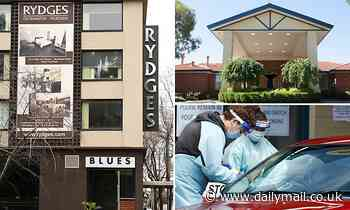Rydges Embracia first link between Melbourne hotel quarantine program and aged care home