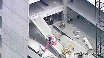 Workers rescued after ATL parking deck collapses