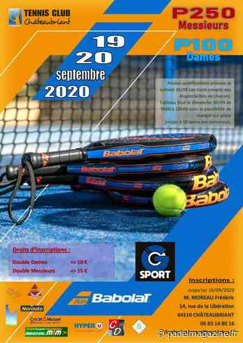 Chateaubriant : 2 tournois à venir - Padel Magazine
