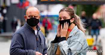 Face masks could be giving wearers coronavirus immunity, experts suggest